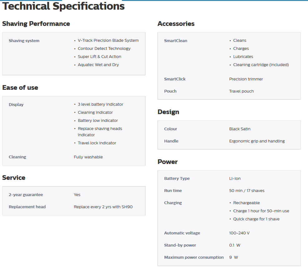 Technical Specifications: Search