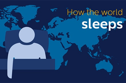 how the world sleeps