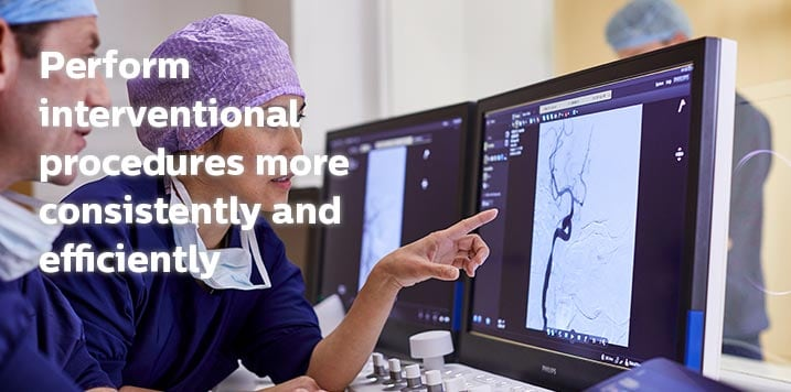 Perform interventional procedures more consistently and efficiently
