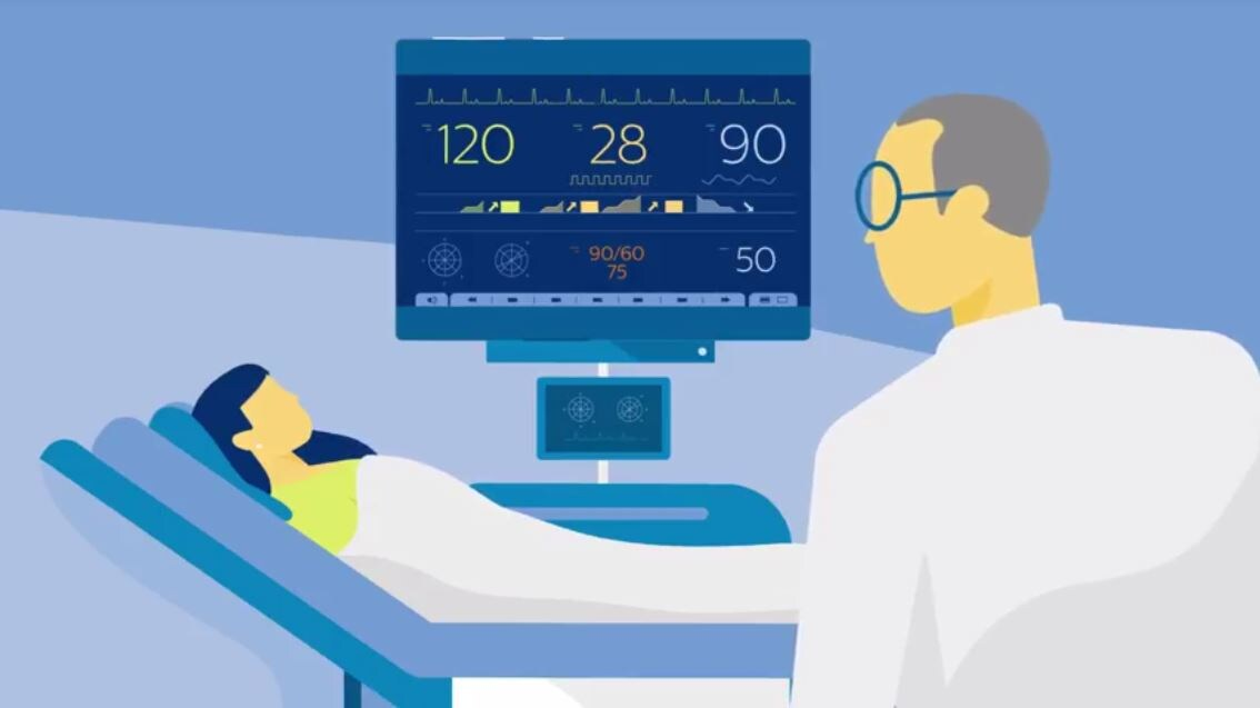 Transport Monitoring System : Philips healthcare patient monitoring