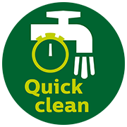 Quick clean technology