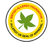 Allergy friendly logo