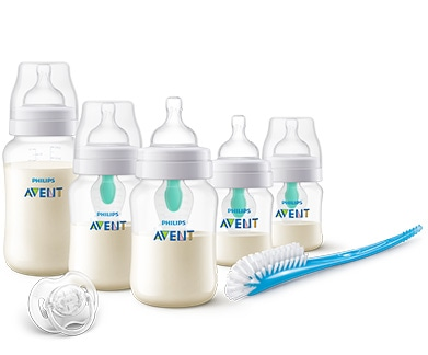 Philips Avent Newborn Starter Set, Anti-Colic with Airfree Vent