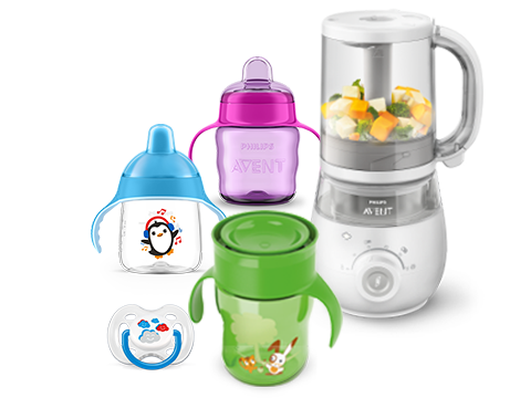 Growing up baby products : toddler feeding drinking and food maker
