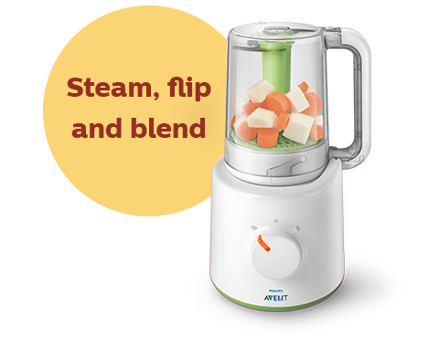 Philips Avent 2 in 1 healthy baby food maker