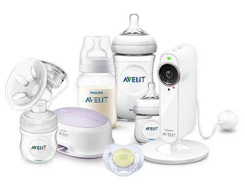 Setting up  baby products: Bottles, Smart Baby monitor, Pacifiers, Breast pumps
