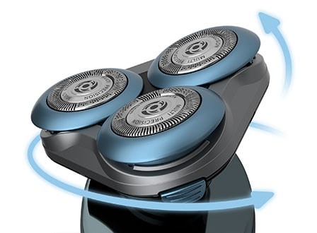 Philips Shaver Series 6000 MultiFlex heads