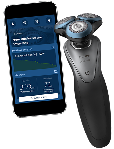 Philips Shaver Series 7000 BeardAdapt Sensor