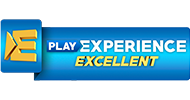 Play experience excellent logo