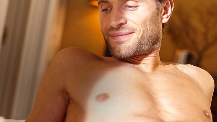 How to shave your chest hair