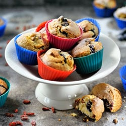 Blueberry muffins | Philips Chef Recipes