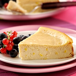 Ricotta and lemon cheesecake | Philips Chef Recipes