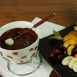 Chocolate fondue | Philips Chef Recipes