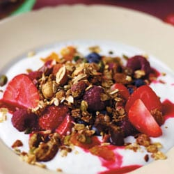 Homemade toasted granola | Philips Chef Recipes