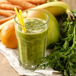 Orange Carrot Green Smoothie | Philips Chef Recipes
