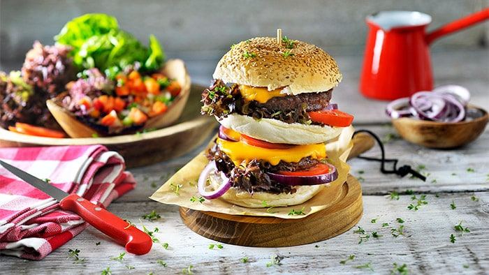 Father's Day special XXL burger | Philips Chef Recipes