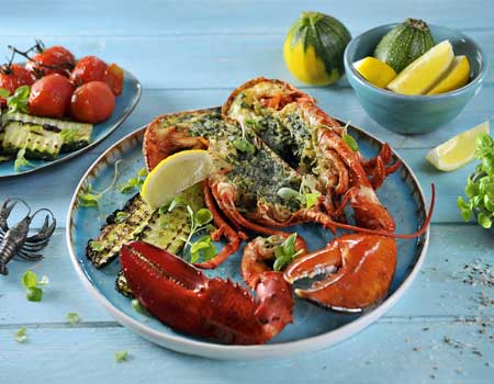 Grilled stuffed lobster | Philips Chef Recipes