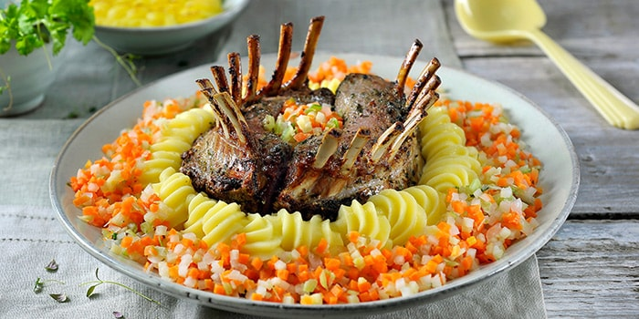 Rack of lamb | Philips Chef Recipes