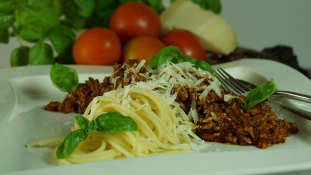 Spaghetti al la Bolognese | Philips Chef Recipes