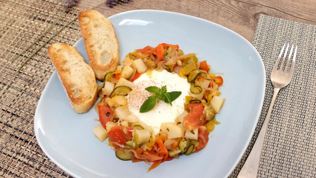 Spanish-style eggs | Philips Chef Recipes