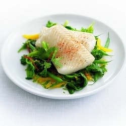 Steamed brill with vegetables | Philips Chef Recipes