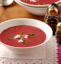 Fresh Beetroot Soup | Philips Chef Recipes