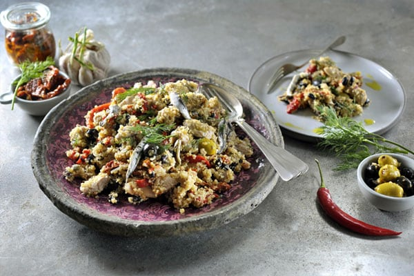 Mediterranean quinoa salad | Philips Chef Recipes