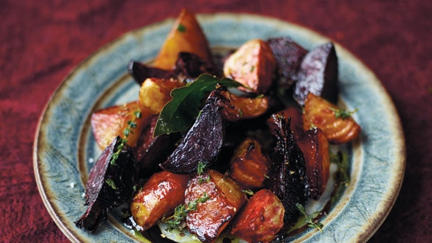 Sticky pot-roast beets | Philips Chef Recipes