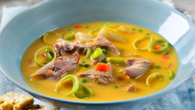 Hearty game and vegetable soup | Philips Chef Recipes