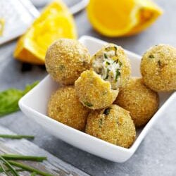 Ricotta Balls with Basil | Philips Chef Recipes