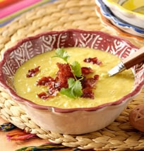 Sweet Corn Soup With Bacon | Philips Chef Recipes
