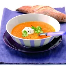 Carrot and coriander soup | Philips Chef Recipes