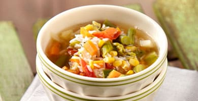 Summer Minestrone With Rice | Philips Chef Recipes