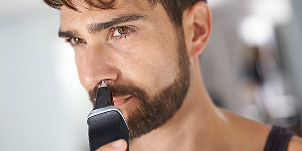 Image result for images of man trimming nose hair high quality article on how to trim nose hair