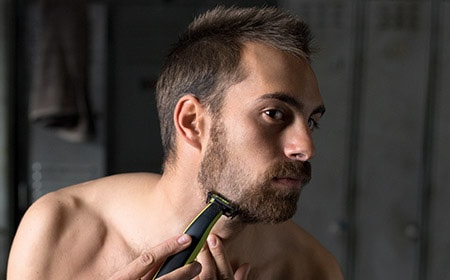 Trim your beard to a precise stubble length