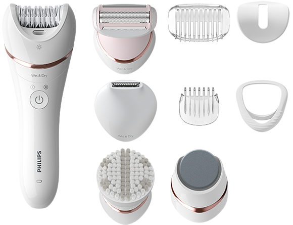Epilator Series 8000 Wet and Dry epilator