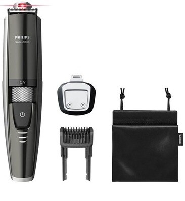 Laser guided beard trimmer BT9297/13