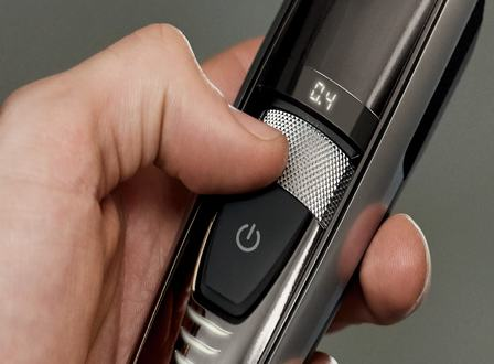 Laser guided beard trimmer – 0.2mm precision