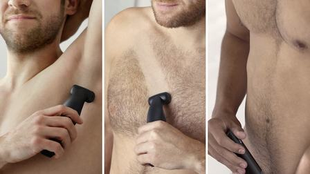 body groomer comfortable on all body parts