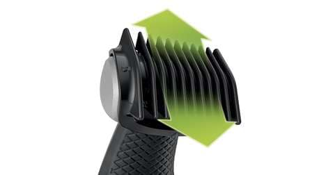 bi-directional body comb