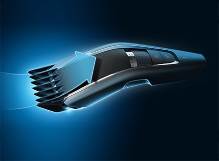 Hair clipper 7000: control buttons