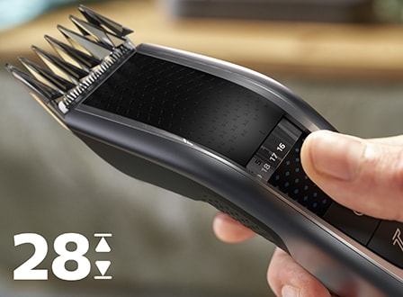 Hair clipper 7000: remember last length setting