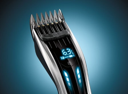Hair clipper 9000: Digital Swipe interface