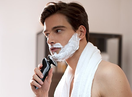 Philips men's electric shavers feature personal comfort settings, to ensure you get a smooth shave every time
