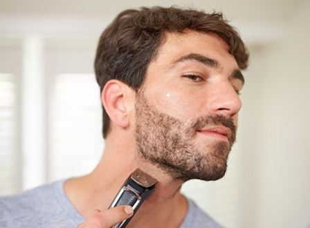 Beard and hair trimming