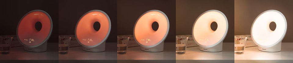 The Philips Wake-Up Light is a dawn simulator