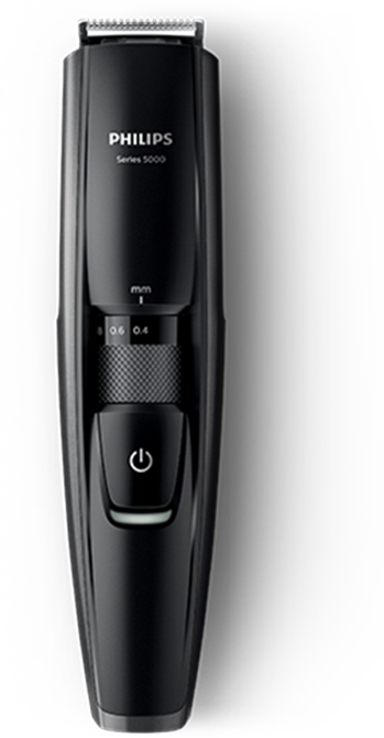 philips beard trimmer 5000 effortless even trim philips. Black Bedroom Furniture Sets. Home Design Ideas