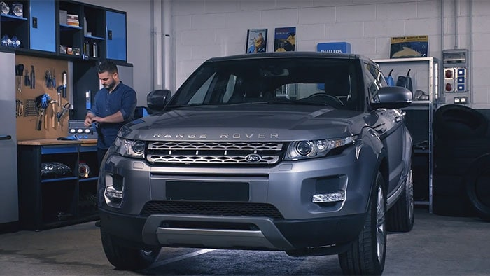 How to replace headlight bulbs on your Range Rover Evoque