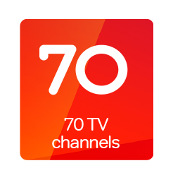 70 channels