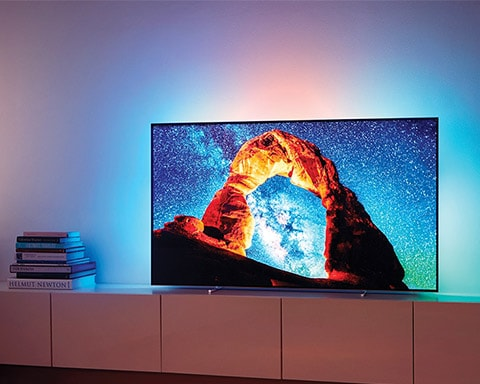 See Philips OLED 4K television